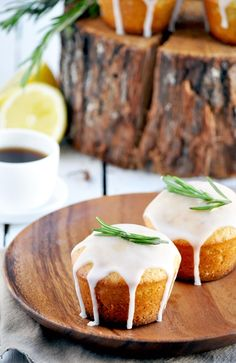 Elodie's Bakery: Lemon, rosemary and olive oil cakes | Cakes au cit...