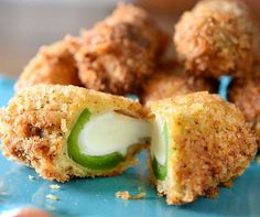 Jalapeno Mozzarella Sticks | Click Pic for 38 Easy Super Bowl Party Food Ideas | Super Bowl Recipes | Snacks | Dips