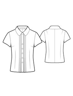 1000 images about technical drawing on pinterest for Peter pan shirt pattern