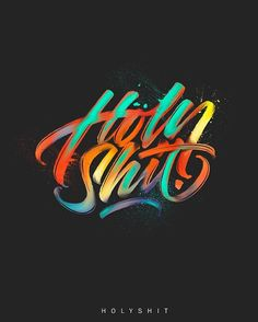 Amazing hand-drawn design collection of lettering, calligraphy and typography artwork. Colorful, bold, brand new designs of typography. Lettering and typography Typography Quotes, Typography Letters, Typography Poster, Graphic Design Typography, Lettering Design, 2017 Typography, Web Design, Logo Design, Type Design