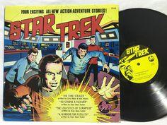 "Star Trek ""A Mirror for Futility"" Peter Pan LP #Vinyl Record"
