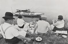 Henri Cartier-Bresson ON THE BANKS OF THE MARNE, FRANCE