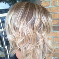 Layered Cut With Balayage. Not blonde of course, but highlights?