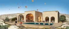 Cappadocia architectural projects, please visit our page to view project details and photos. Cappadocia, Mansions, Architecture, House Styles, Home, Arquitetura, Manor Houses, Villas, Ad Home
