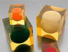 Paire de cubes by Enzo Mari