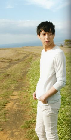 Yoochun in JYJ Mahalo Photobook