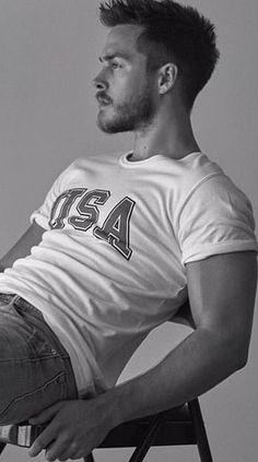 Chris Wood photoshoot by John Tsiavis, 2016 The Vampire Diaries, Sterek, Supergirl, Kai Parker, Cho Chang, Film Serie, Attractive Men, Hot Boys, Cute Guys