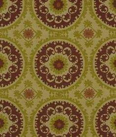Robert Allen Seismic Sun Chili Fabric $62.55
