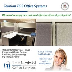 One of Largest office services provider in BC. Services includes furniture installation, repairs, office moves and relocation, Office Reconfigurations Office Dividers, Office Moving, Used Office Furniture, Modular Office, Premium Brands, Herman Miller, Office Room Dividers