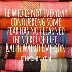 -Ralph Waldo Emerson.