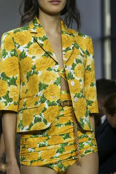 Yellow is definitely the colour for Spring/Summer 15 Michael Kors SS15 at NYFW