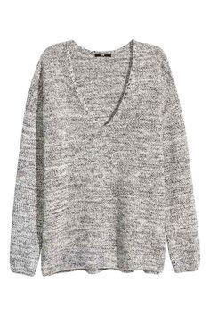 5990/V-nyakú pulóver | H&M