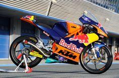 Red Bull KTM Ajo, Miller's bike, Jerez Moto3 Test Feb 2014