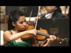 LOVE Sarah Chang - Bruch Violin Concerto in G Minor (1st movement and 29 measures of 2nd movement)