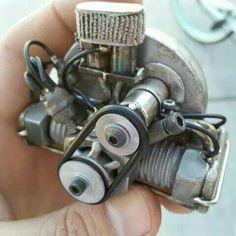 Miniature VW 1600cc engine