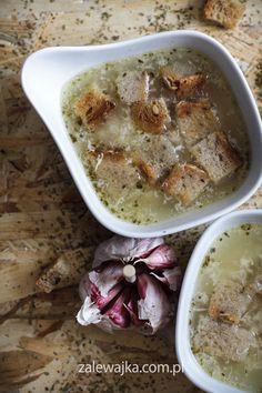 Zupa czosnkowa przepis