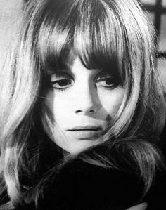 Françoise Dorléac, Catherine Deneuve's sister. Also an actress,  she died in a car crash in 1967