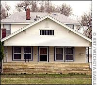 The residence of Vicki Wegerle - victim of the BTK Killer, Dennis Rader