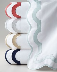 Horchow King Flat Sheet, Monogrammed from Horchow | BHG.com Shop