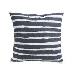 Paint Stripe Cushion Slate - Milk & Sugar