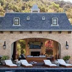 Online Exclusive - Pool Cabana: Architectural Digest