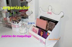 organizador para paletas de maquillaje