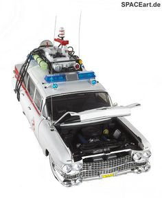 Ghostbusters: ECTO-1, Fertig-Modell ... http://spaceart.de/produkte/ghb001.php
