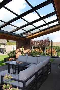 Backyard Patio Designs, Pergola Patio, Outdoor Landscaping, Rooftop Terrace Design, Balcony Design, Modern Patio Design, Garden Deco, Canopy Outdoor, Outdoor Living