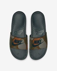 newest d3a8e b1a5a Claquette Nike Benassi JDI Printed pour Homme