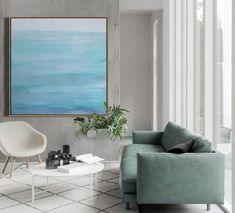 CZ Art Design - Hand painted large Abstract Landscape Oil Painting #LX74A canvas art abstract painting.