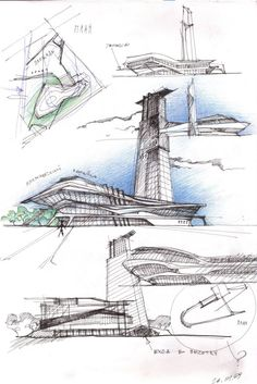 Architectural Sketch Print...