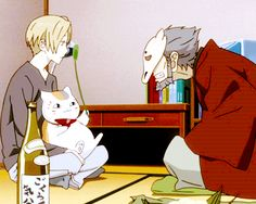 Natsume Yuujinchou<<<will someone please comment if you have seen this show because I am in love with it and I have no one to release my obsession with Cute Anime Boy, Anime Love, Anime Guys, Manga Anime, Anime Art, Saiunkoku Monogatari, Natsume Takashi, Cool Anime Pictures, Hotarubi No Mori