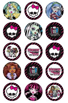 Monster High UPrint Digital File by TurquoiseKissesBows on Etsy, $1.00