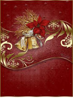 Obrázky k dopsání vlastního textu 2 | vánoční blog Christmas Paper, Blog, Painting, Painting Art, Paintings, Painted Canvas, Drawings
