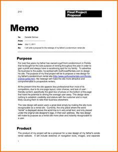 Sample Business Memo Examples Memo Template Business