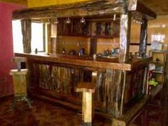 1000 images about muebles lidos on pinterest google for Bar rustico de madera nativa