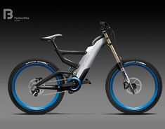 DH bike concept sketch on Behance