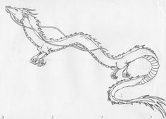 Haku from spirited away, would love to get this on my leg. beautiful dragon - this version is not the right style or the right version of Haku Spirited Away Tattoo, Spirited Away Haku, Studio Ghibli Tattoo, Studio Ghibli Art, Studio Art, Trendy Tattoos, Small Tattoos, Dragons Tattoo, Chihiro Y Haku
