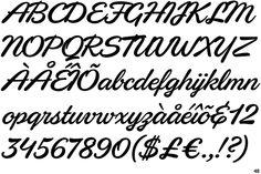 Eubie Script font - Google Search