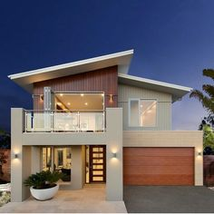 3. Mono Pitched Roof...on A Contemporary House. This Roof Looks
