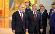 Reception to mark Victory Day 01 - Nursultan Nazarbayev - Wikipedia Cuba, Victorious, Israel, Reception, Suit Jacket, Fashion, Moda, Fashion Styles, Fashion Illustrations
