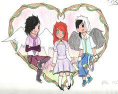 Happy Valentines- Gaurdian Angel by AnimePandaKawaii