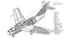 MiG-15 cutaway