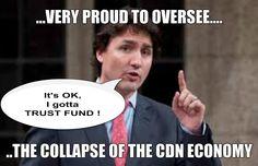 Trudeau on the Canadian Economy #canpoli