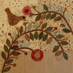 Benny's Garden Block/Pine Valley Quilts