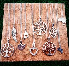 Inspired by nature♡ Sterling silver range. Availible at Root44market and  @platform8za  Any online orders welcome☺ Email me at hallojane.sa@gmail.com  #wood #silver #925 #sterlingsilver #pendants #necklaces #gifts #forher #nature #africa #heart #love #tree #treeoflife #baobab #angel #wing #leaf #bird #trending #charms #charmsfordays #instagood #local #capetown #stellenbosch #root44 #R44 #hallojane