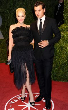 Gwen chose a Chanel frock for the 2009 Vanity Fair Oscar bash with hubby Gavin Rossdale.