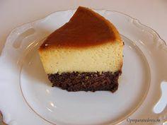 Prajitura crema de zahar ars cu blat Food Cakes, Cake Recipes, Caramel, Cheesecake, Desserts, Cakes, Sticky Toffee, Tailgate Desserts, Candy