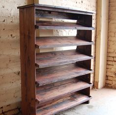 Entryway Table/ Shoe Rack/ Shoe Storage/ By LooneyBinTradingCo