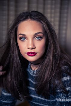 Maddie Ziegler as Hannah Hall -  visual inspiration for bestselling author Angela M. Shrum's upcoming novel, A Burst of Flames (Flares)
